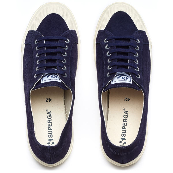 2390 Sueu Navy Sneaker Mens Accessories 41,42,43,44,45,46 Superga