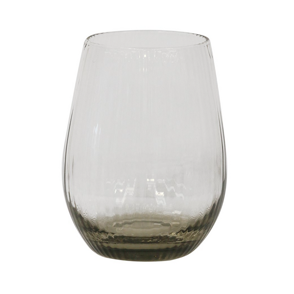 CC Interiors Smoked Glass Tumbler, CC Interiors Stockist, Handblown smoked glass tumbler