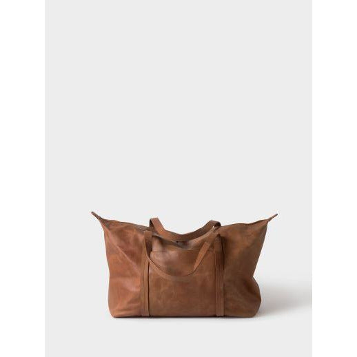 Frank Leather Duffle Bag - Tan Bags + Wallets Default Title Citta