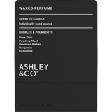 Ashley & Co Waxed Perfume Bubbles & Polkadot Fragranced Palm Wax Candle