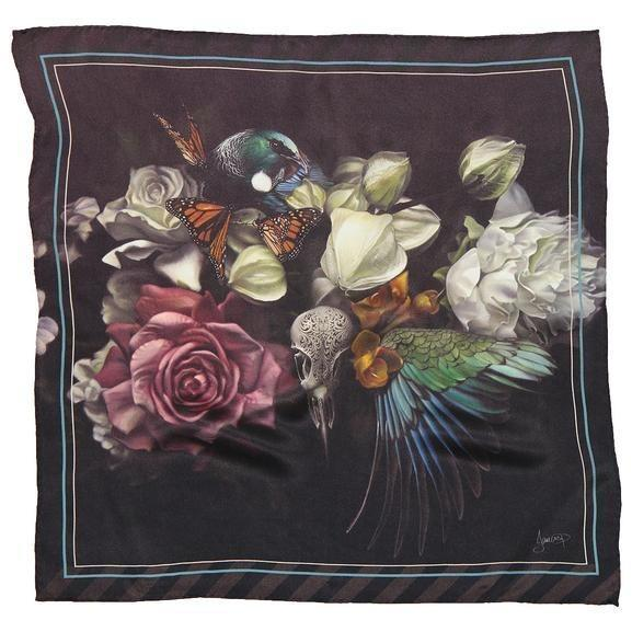Raw Artistry Silk Scarf - Metanoia by Jane Crisp