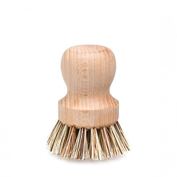 Redecker Pot Brush, Wooden Pot Scrubbing Brush