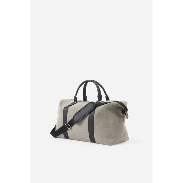 Canvas Weekender Bay - Grey Bags + Wallets Default Title Citta