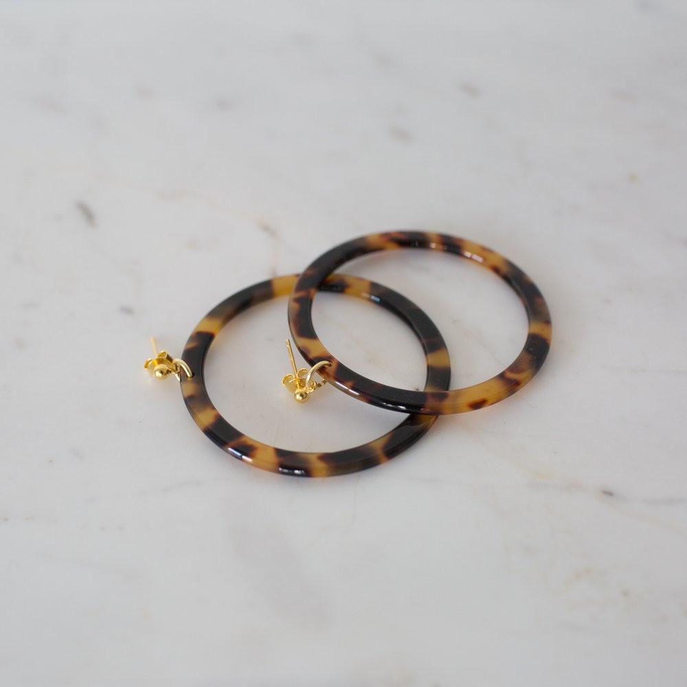 SOPHIE Earrings Torty Hoop