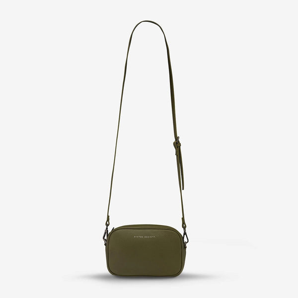 Status Anxiety Khaki Plunder Bag, Status Anxiety NZ, Status Anxiety Stockist