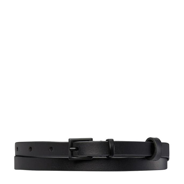 Status Anxiety Womens Leather Belt One Little Victory Black