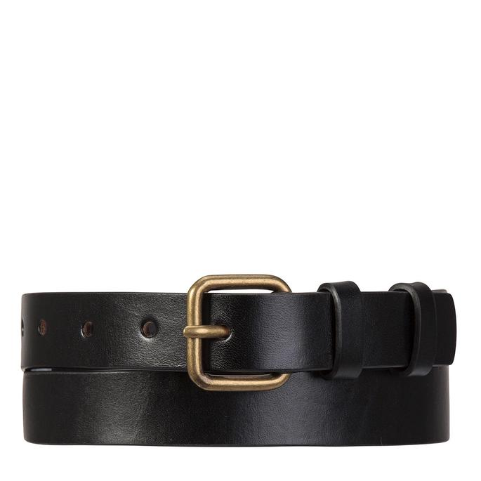 Status Anxiety Womens Leather Belt Revelry Black