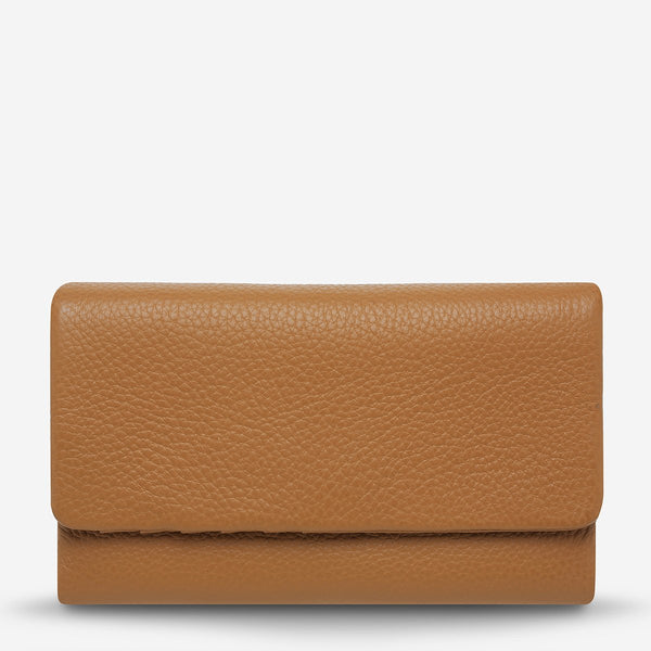 Audrey Wallet - Tan Pebble Bags + Wallets Default Title Status Anxiety