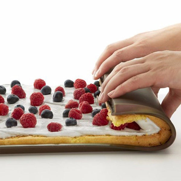 Non-stick Silicone Swiss Roll Mat-ChowStuffs