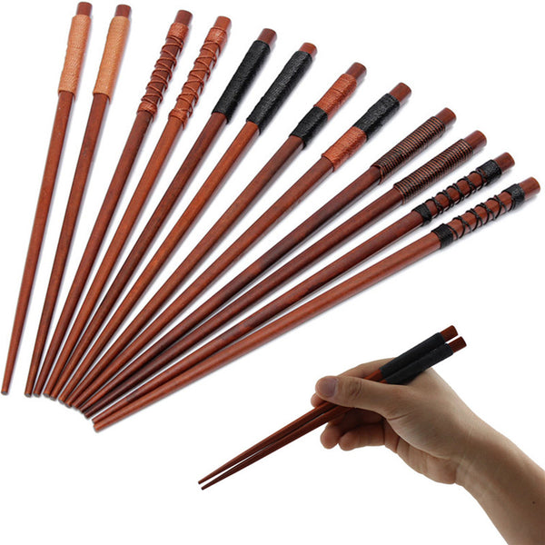 Natural Japanese Iron Wood Chopsticks