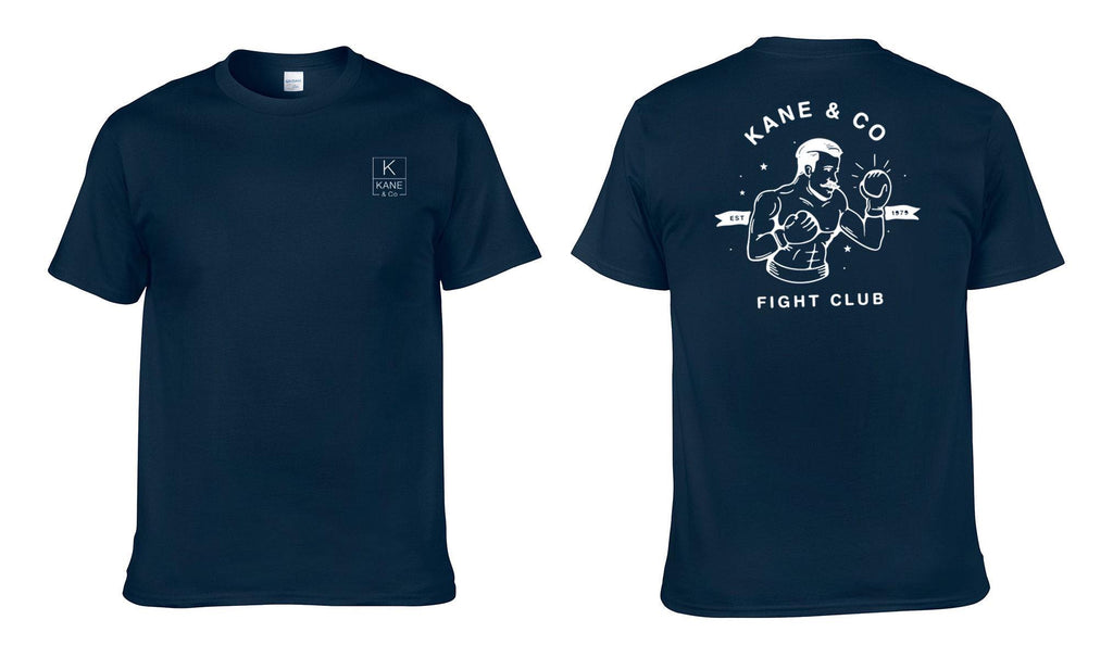 Knuckles Fight Club Tee - Navy