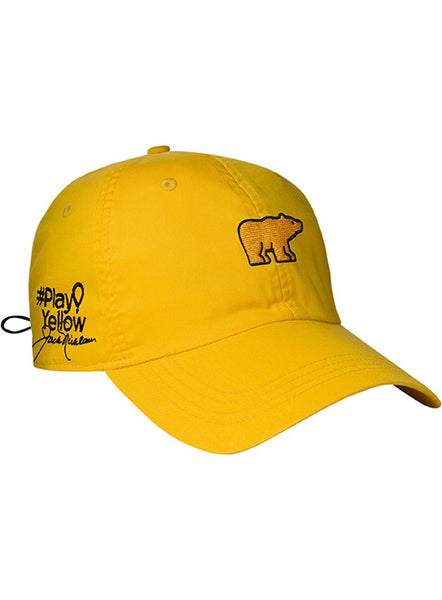 Lightweight Play Yellow Cap