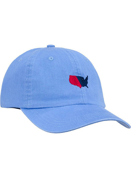 Newport U.S. Map Relaxed Adustable Cap