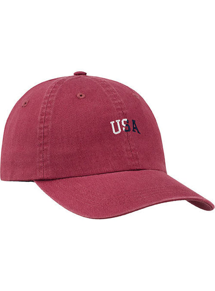 Newport U.S.A. Text Relaxed Adustable Cap