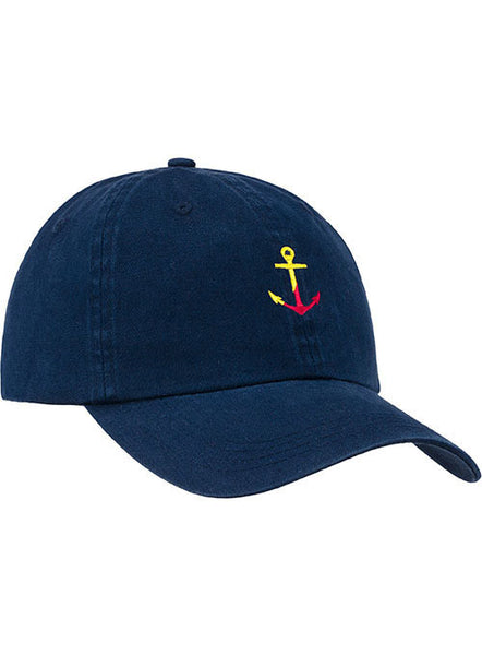 Newport Anchor Relaxed Adjustable Cap