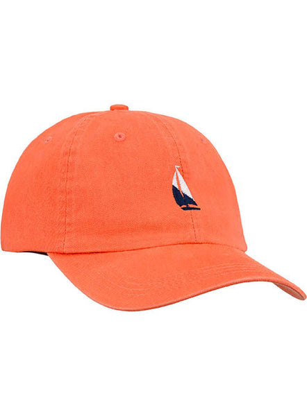 Newport Sailboat Relaxed Adjustable Cap