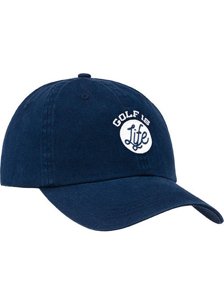 Newport Golf is Life Circle Relaxed Adjustable Cap