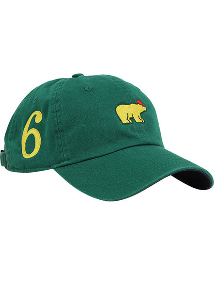 "Jack Nicklaus Green ""Majors"" Cap"