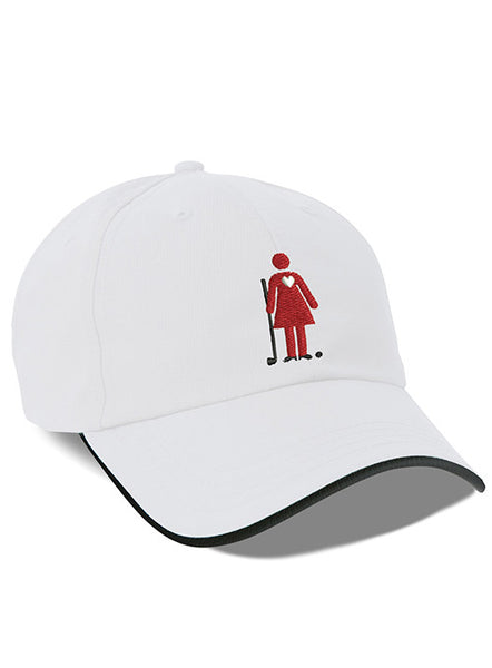 Women's Golf Day Performance White Cap
