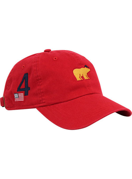 "Jack Nicklaus Red ""Majors"" Cap"