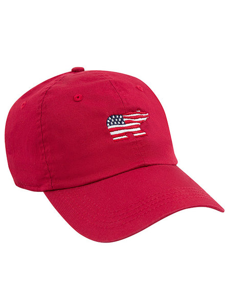Jack Nicklaus USA Red Bear Cap