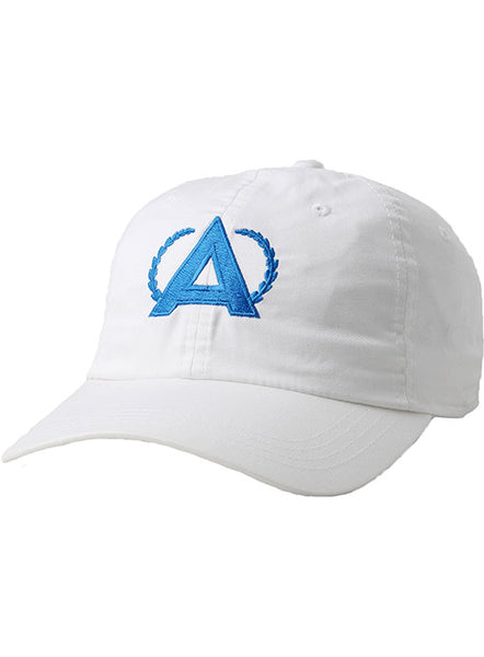 Annika Lightweight Solid Unstructured White Cap