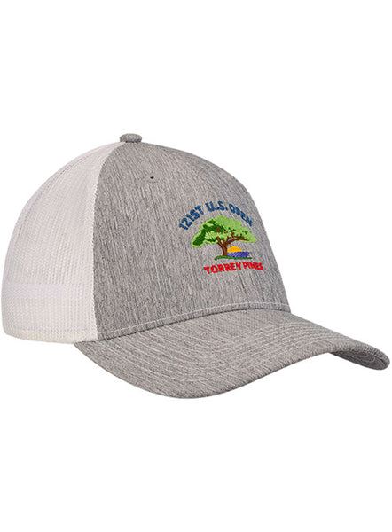 2021 U.S. Open Poly Heather Mesh Back Cap