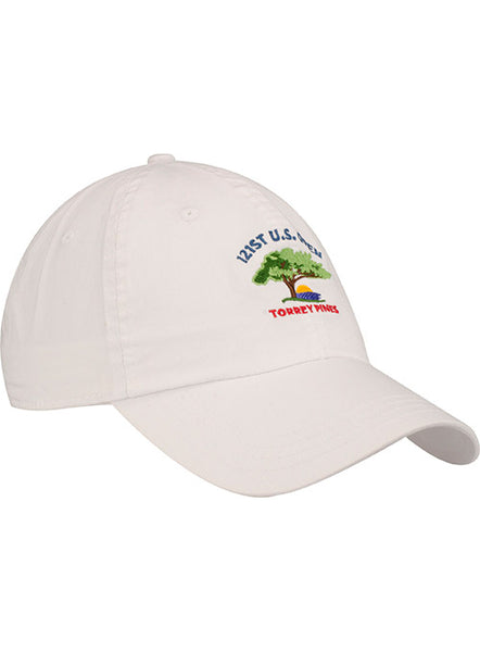 2021 U.S. Open Lightweight White Cotton Cap