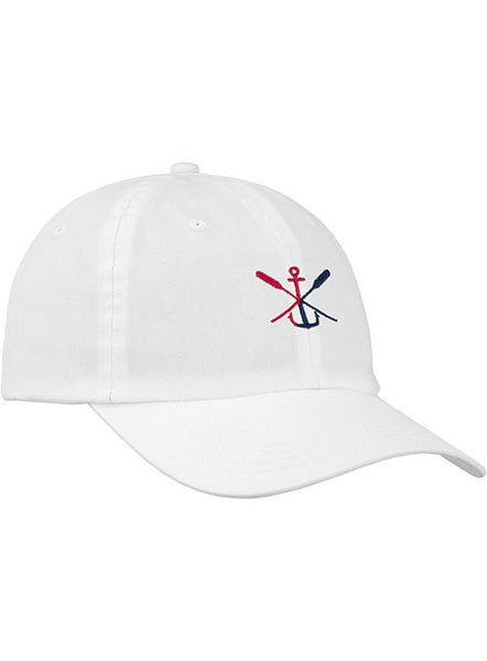 Newport Anchor & Oars Relaxed Adjustable Cap