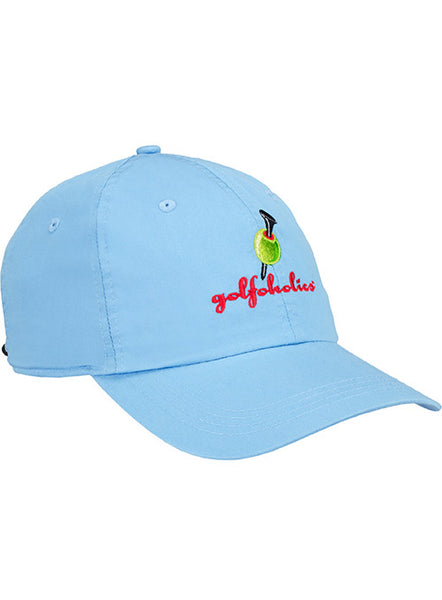 Golfoholics Carolina Blue Lightweight Cotton Cap