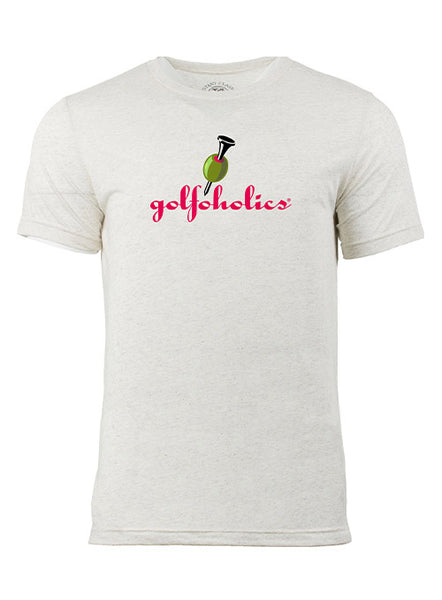Golfoholics Classic Badge Of Honor Tee Shirt
