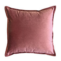 Mira Velvet Ashes Of Roses Cushion