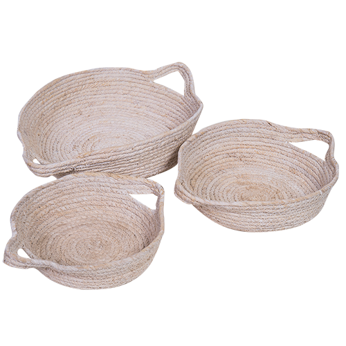 Seagrass Basket - White