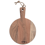 Acacia Wood Round Chopping Board