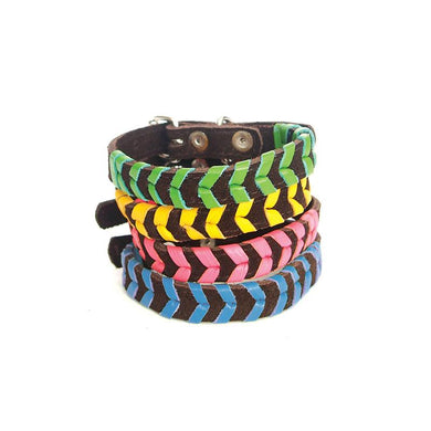 FLORA PLAIT COLLAR - SMALL DOGS AND PUPPIES