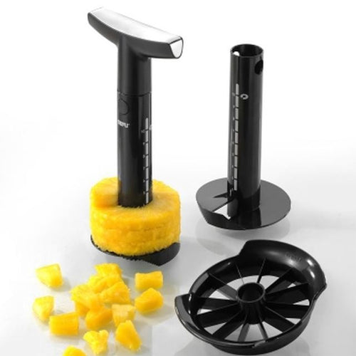 Gefu Pineapple Slicer With Cutter Black