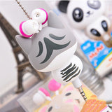 Cute Cat Retractable Ear Buds/Headphones