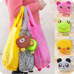 Cute Animal Reusable Shopping Bags