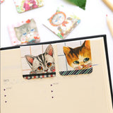 Four Sets Adorable Magnetic Bookmarks