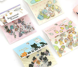 80 Pieces Tiny Adorable Flake Stickers