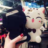 Adorable Big Cat Phone Case