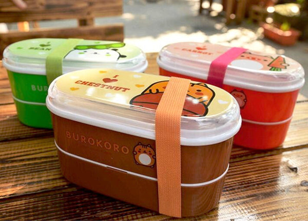 Fun Colorful Bento Lunch Boxes