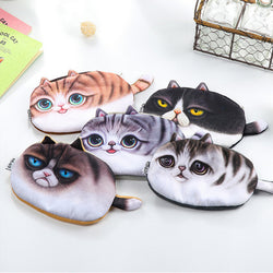 Kawaii Cats Zipper Pouch