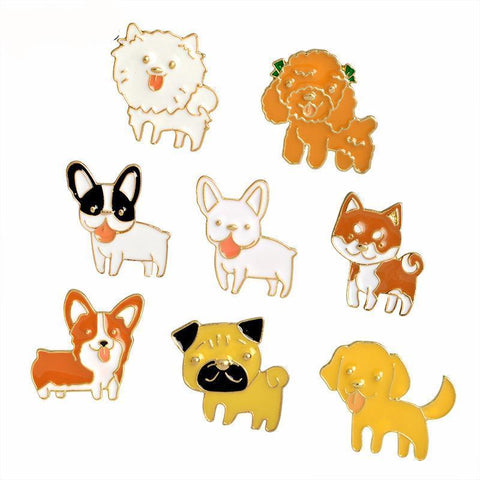Sweet Dog Pins: Lots of Breeds!