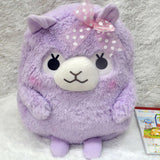 Soft Plush Alpaca Backpack
