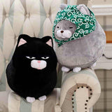 Plush Japanese Lucky Cats