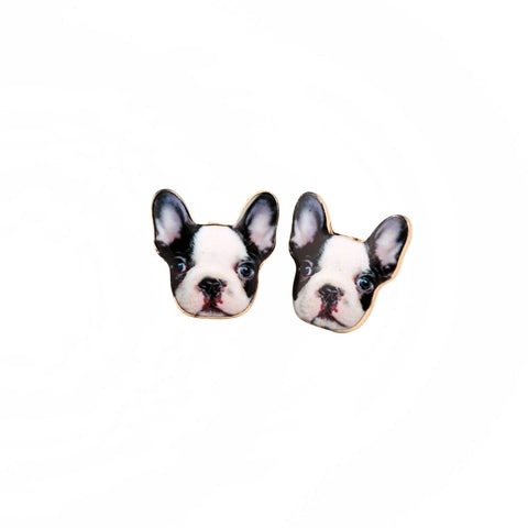 French Bulldog Lovers Earrings for Women