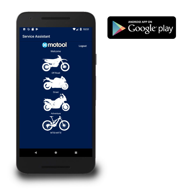 Motool Service Assistant for Android