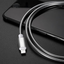 3S Deals Mobile Phone Cables Stainless Steel Case Charging Cable For iPhone