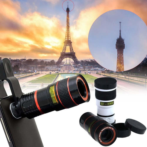 3S Deals Mobile Phone Lenses 8x Zoom Lens for Mobile Phone